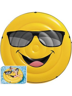 Intex Intex - Smiley - Zwemmatras - Opblaaseiland emoticon - 173x27cm.