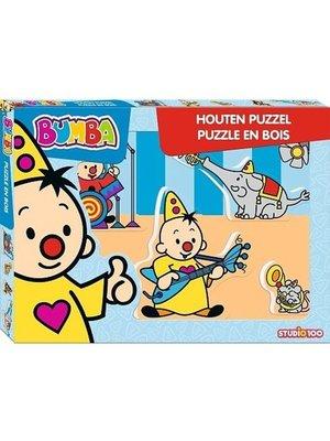 Studio 100 Bumba - Puzzel - Muziek - Hout - 5st.