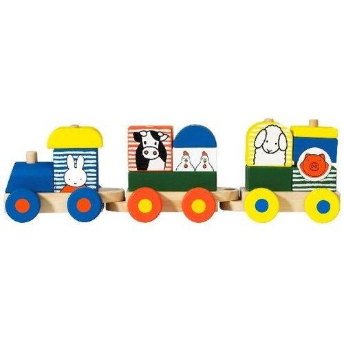 Bambolino Toys - Nijntje - Trein met blokken