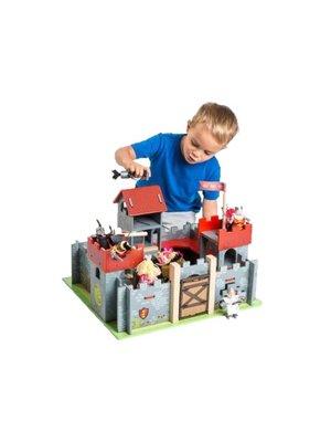 Le Toy Van Le Toy Van - Kasteel Camelot - Rood