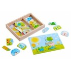 HABA Haba - Puzzel - Grappige dierenmix - Hout - 30st.