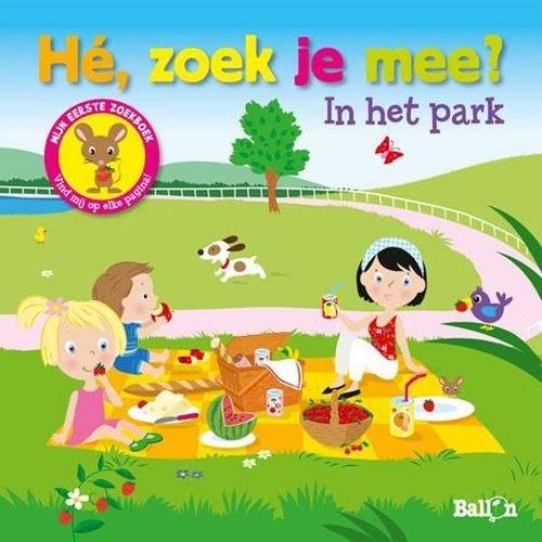 Ballon - Boek - Hè , zoek je mee in het park