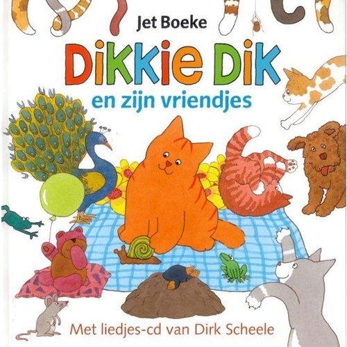 Gottmer Gottmer - Boek - Dikkie Dik en zijn vriendjes - met CD