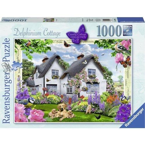 Ravensburger Ravensburger - Puzzel - Delphinium Cottage - 1000st.