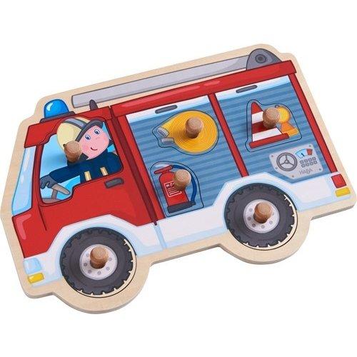 Haba Puzzel - Brandweerauto - 6st.