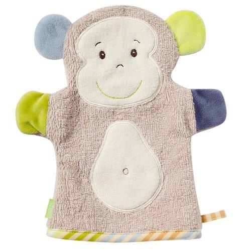 Fehn - MonkeyDonkey - Knuffel washand - Aap