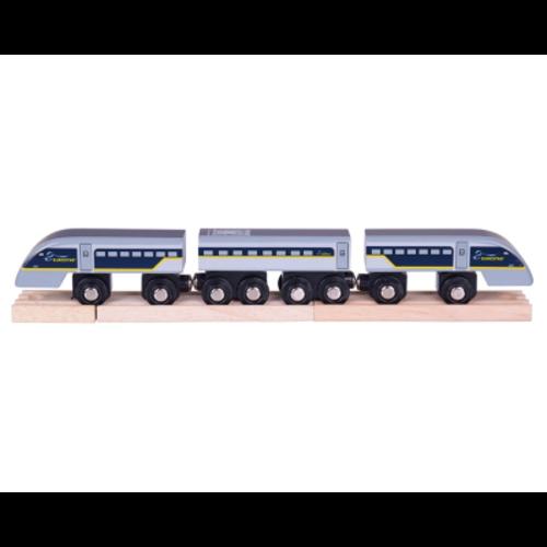 BigJigs Bigjigs - Rails - Eurostar E320 trein