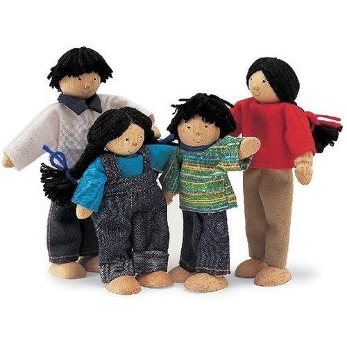 Tidlo Tidlo - Poppenhuispoppetjes - Aziatische familie