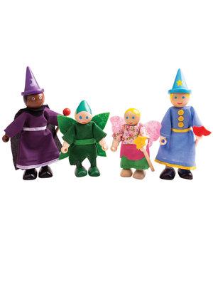 BigJigs Bigjigs - Poppenhuispoppetjes - Fantasiefiguren