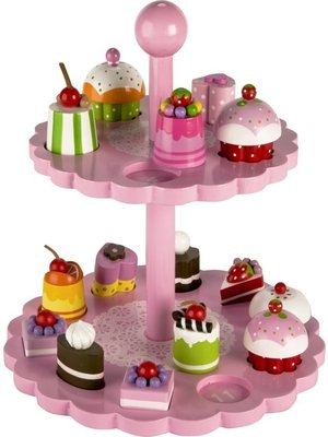 Tidlo Tidlo - Puzzel - High tea taartjes standaard - Tellen & passen