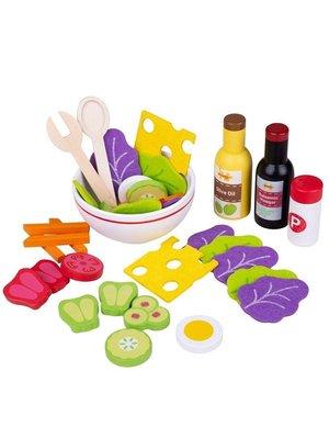 BigJigs Speelgoedeten - Gezonde salade set
