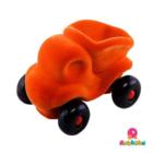 Rubbabu - De kleine kiepwagen - Oranje
