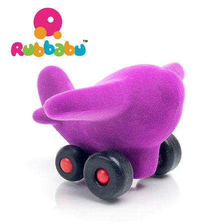 Rubbabu - Vliegtuig - The little Dakota - Paars