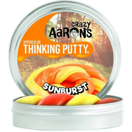 Crazy Aarons Crazy Aarons - Thinking putty - Hypercolor - Sunburst - Mini