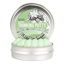 Crazy Aarons - Thinking putty - Electric - Electric Green - Mini