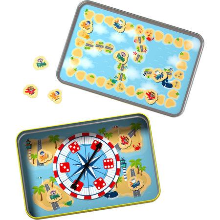 HABA Haba - Spel - Reisspel - Beren erger jullie niet - Magnetisch - In blik - 4+
