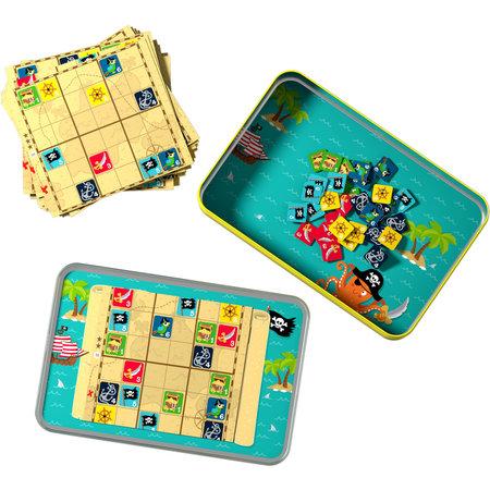 HABA Haba - Spel - Reisspel - Kapitein Sudoku - Magnetisch - In blik - 5+