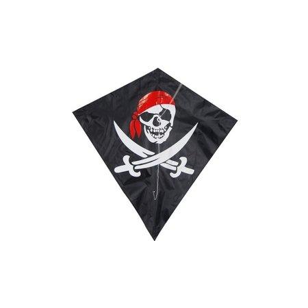 Delta Delta - Vlieger - Diamant - Piraat - 82x88 cm