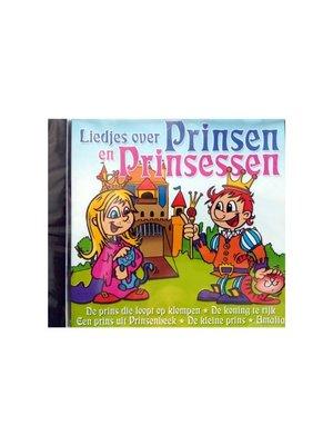 Benjamin - CD - Liedjes over prinsen en prinsessen.
