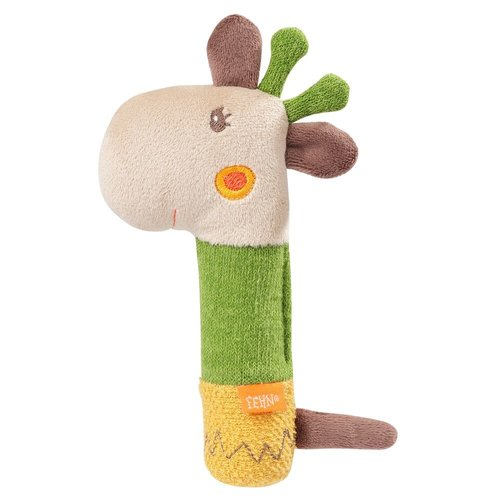 Fehn - Knuffel - Rammelaar - Giraf