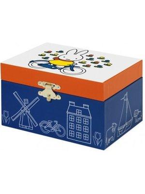Bambolino Toys Sieraden- & muziekdoos - Nijntje op de fiets