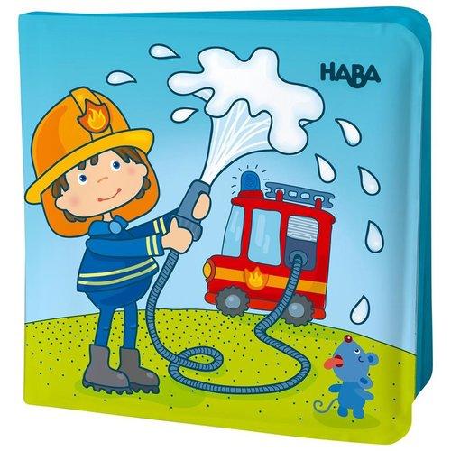 Haba Boek - Badboek - Brandweer