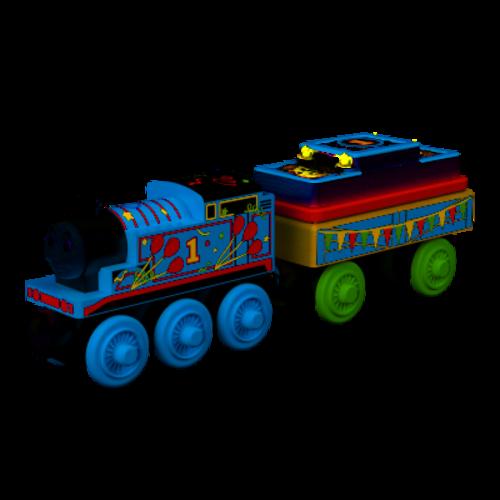 Thomas De Trein Thomas de Trein - Locomotief - Thomas - Jarig - Hout - Luxe - 2019