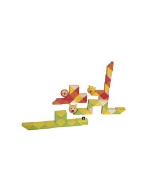 Simply for kids Puzzel - Vouwpuzzel - Dieren - 1st.