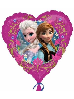 Anagram Anagram - Folieballon - Frozen - Hart - 43cm