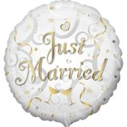 Anagram Anagram - Folieballon - Just married - Zonder vulling - 43cm