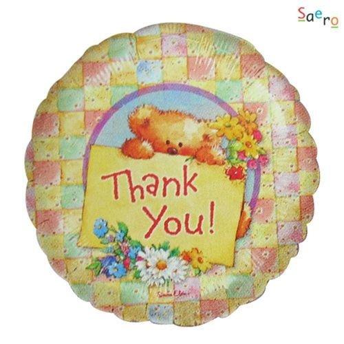 Anagram Anagram - Folieballon - Thank you! - Zonder vulling - 43cm