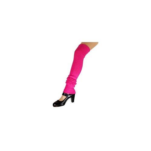 Beenwarmers - Tot over de knie - Lang - Roze - Fluor / neon