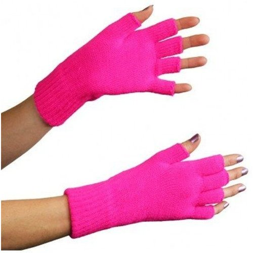 Apollo Apollo - Handschoenen - Vingerloos - Fluor roze