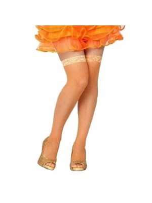 Stay up kousen - Oranje - Net