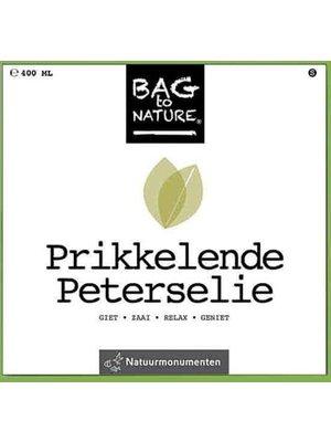 Bag to nature - Moestuintje - Prikkelende peterselie