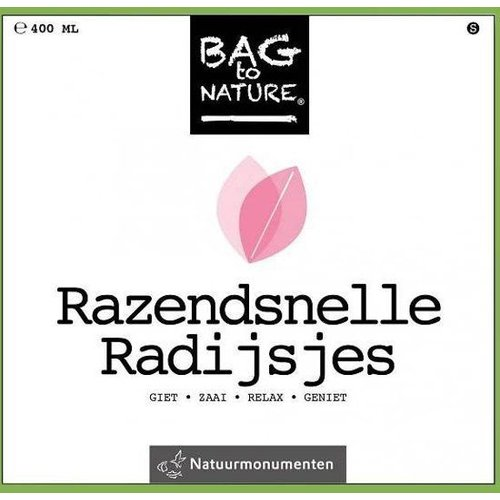Bag to nature - Moestuintje - Razendsnelle radijs