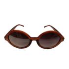 Bladwijzer Bril - Ovaal - Paars/bruin