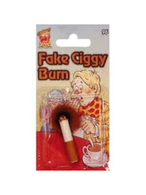 Bladwijzer Sanroma - Fopartikel - Ingebrande sigaret