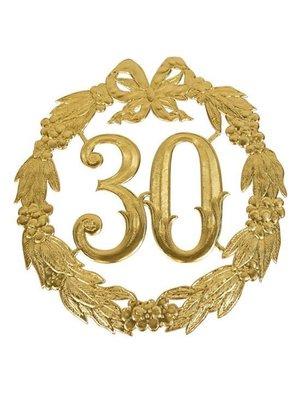 Witbaard Huldekrans - 30 Jaar - Goud