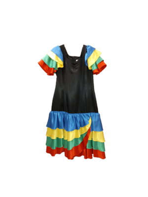 1234feest 1234feest - Kostuum - Jurk - Rio - M/L