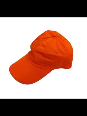 Bladwijzer Baseball Pet - Fluor oranje