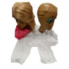 Bladwijzer Bladwijzer - Shirt - Siamese tweeling - Wit - Voor 2 personen