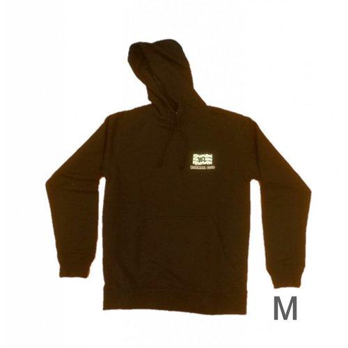 Bladwijzer 1234feest - Westland - Trui - Helemaal goud - Capuchon - Zwart - M