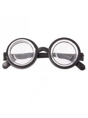 Boland Bril - Nerd - Zwart