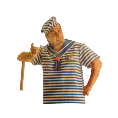 Carnival Toys Carnival Toys - Kostuum - Matroos - L