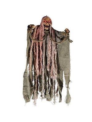Carnival Toys Decoratief skelet - Hangend - Gevangene - Met licht & geluid