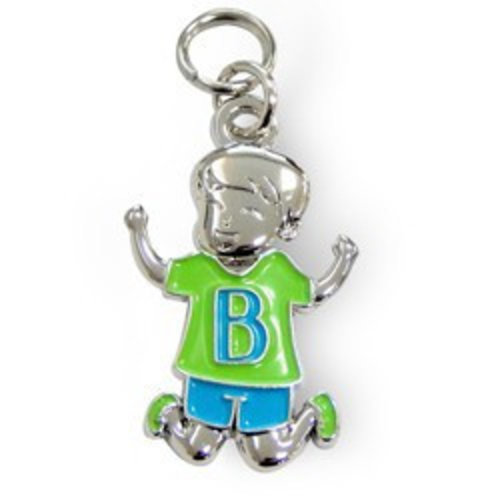 Charms for you Bedeltje - B - Jongen - Charms for you