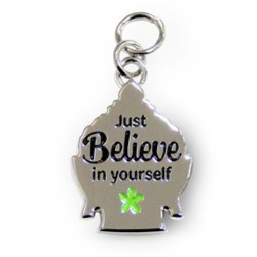 Charms for you Bedeltje - Believe - Charms for you