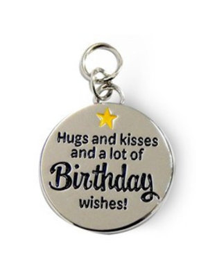 Charms for you Bedeltje - Birthday - Charms for you