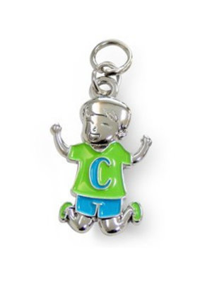 Charms for you Bedeltje - C - Jongen - Charms for you